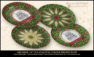 Webgrrl's customisable plates