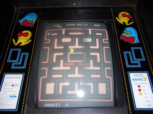 A classic video game, Pacman